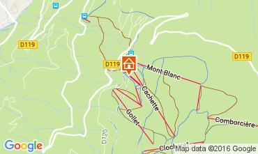 Map Les Arcs Chalet 89274