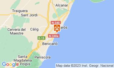 Map Vinaròs Apartment 103046