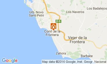 Map Conil de la Frontera Apartment 103978