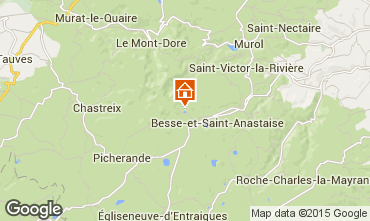 Map Besse - Super Besse Apartment 3830