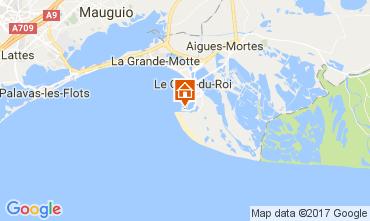 Map Port Camargue One-room apartment 5995