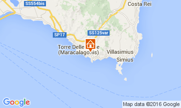 Map Villasimius Villa 63520