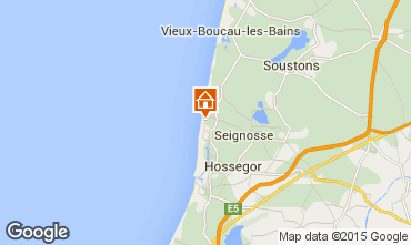 Map Hossegor Apartment 96784