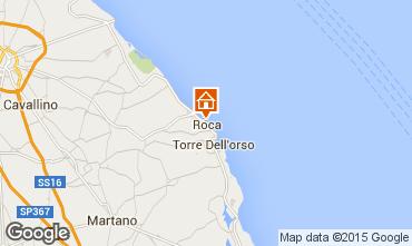 Map San Foca Apartment 96428