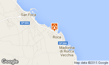 Map San Foca Apartment 96428