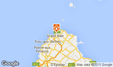 Map Péreybère Villa 96231