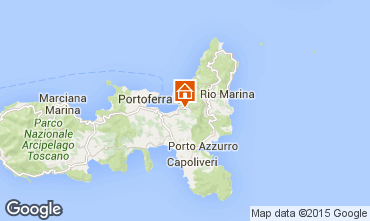 Map Portoferraio Apartment 70052