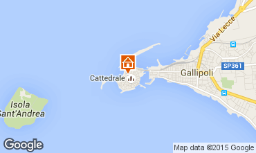 Map Gallipoli Apartment 63293