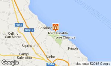 Map Lecce Villa 78308