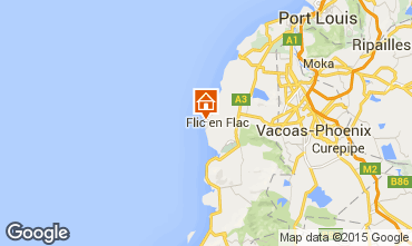 Map Flic-en-Flac Bungalow 9522