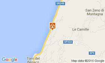 Map Torri del Benaco Apartment 105514