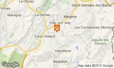 Map Notre Dame de Bellecombe Chalet 90657