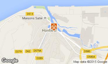Map Honfleur Apartment 46803