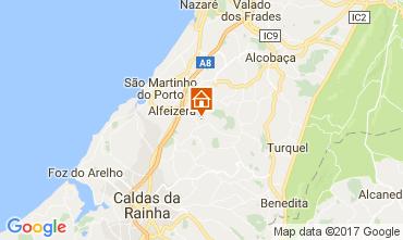 mapa de portugal s martinho do porto São Martinho Do Porto vacation rentals cottages mapa de portugal s martinho do porto