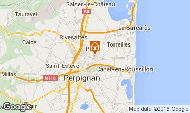 Map Canet-en-Roussillon House 95688