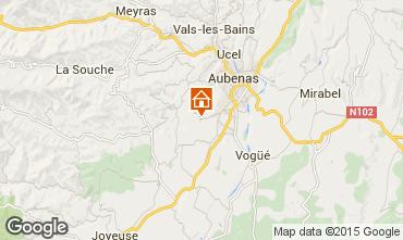 Map Aubenas House 71557