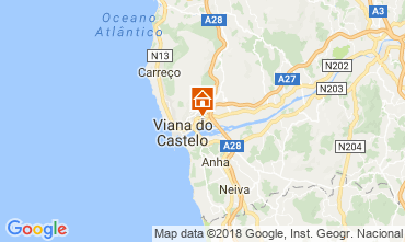 Map Viana Do castello Apartment 21585