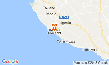 Map Ugento - Torre San Giovanni House 77313