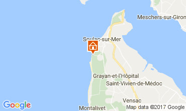 Map Soulac House 109460
