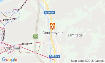 Map Courmayeur Apartment 117114