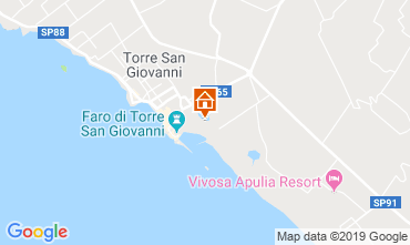 Map Ugento - Torre San Giovanni Apartment 118359