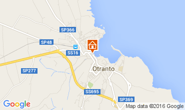 Map Otranto Apartment 105287