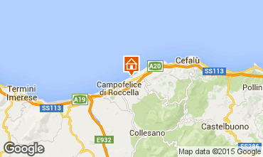 Map Cefal� Apartment 70287