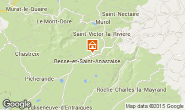 Map Besse - Super Besse Apartment 76708