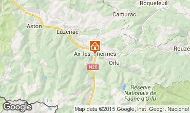 Map Ax Les Thermes Apartment 80178