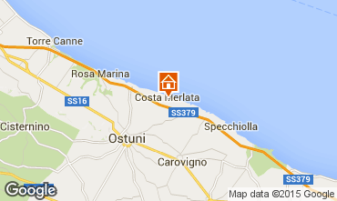 Map Ostuni Apartment 68489