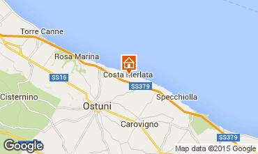 Map Ostuni Apartment 68489