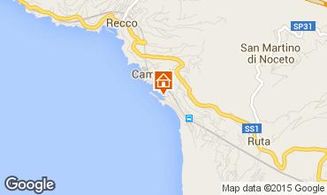 Map Camogli Apartment 82387