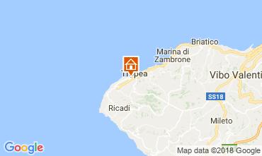 Map Tropea Apartment 114192