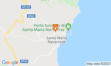 Map Santa Maria Navarrese Apartment 83808