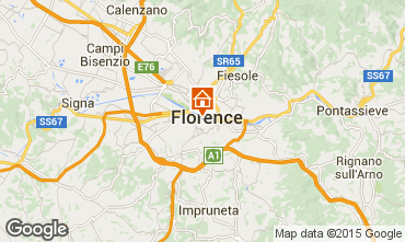 Map Florence Apartment 90994