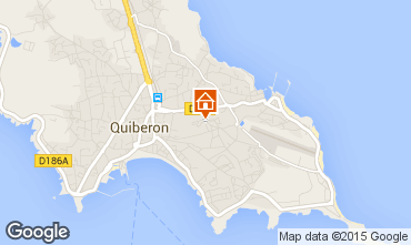 Map Quiberon Apartment 31206