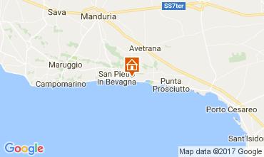 Map San Pietro in Bevagna Apartment 109377