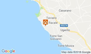 Map Alliste Villa 113895